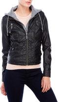 Joujou jou jou Faux Leather Bib Jacket