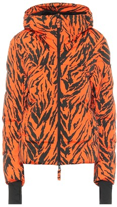Jet Set Exclusive to Mytheresa Julia tiger-print puffer ski jacket