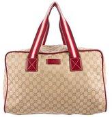 Gucci GG Canvas Duffle Bag