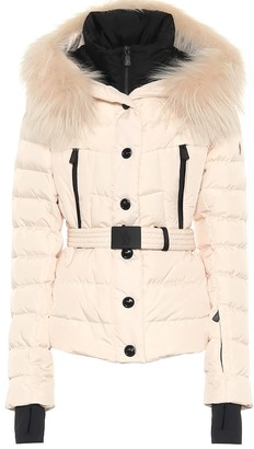 MONCLER GRENOBLE Beverley fur-trimmed down ski jacket