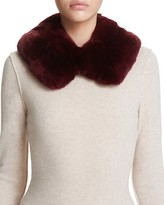 Surell Rabbit Fur Collar