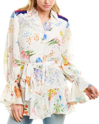 Rococo Sand Ayaka Silk Tunic