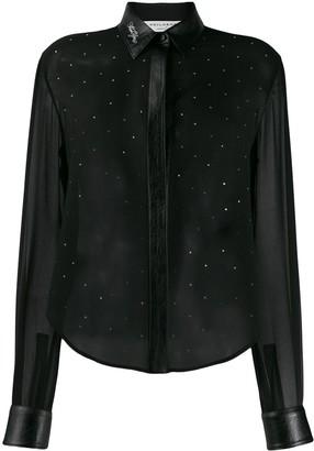 Philosophy di Lorenzo Serafini embellished long sleeve blouse