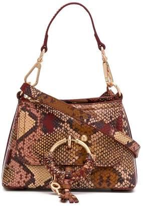 See by Chloe Joan snakeskin-effect tote bag