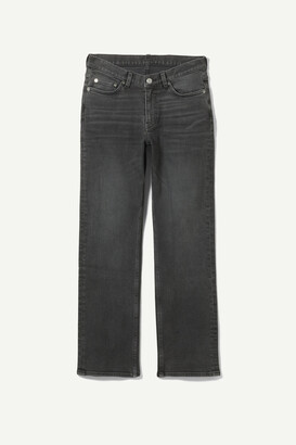 Weekday Twig Mid Straight Jeans - Blue