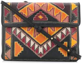 Etro Aztec print cross body bag