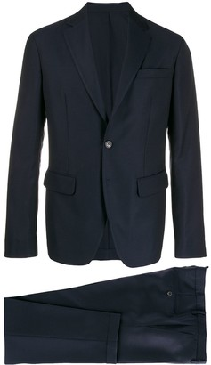 DSQUARED2 Navy Two Button Suit