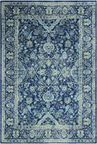 "Blue Area Bashian Amanda Dark Rug, 5'x7'6"""