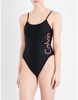 Calvin Klein Core scoop-back swimsuit