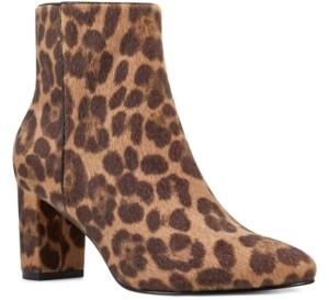 Nine West Trin Block Heel Booties Women's Shoes