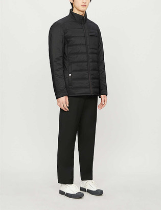 Ted Baker Funnel-neck shell jacket