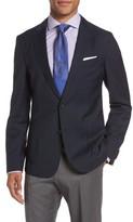 BOSS Men's Nold 8 Trim Fit Windowpane Wool Sport Coat