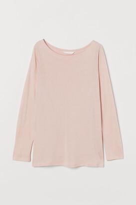 H&M MAMA Long-sleeved Nursing Top