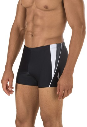 Speedo Men's Fitness Square-Leg Swim Shorts