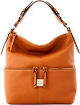 Dooney & Bourke Leather Medium Zipper Pocket Sac