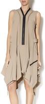 Gracia Zipper Trapeze Dress