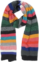 Paul Smith Multicolor Stripe Mohair Wool Men's Scarf