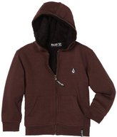 Volcom Boys 2-7 Solid Speckle Lined Little Youth Sweater