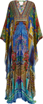 Camilla Bohemian Bounty-print silk maxi dress