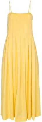 Three Graces Lucia pleated dress