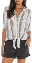 Bella Dahl Tie Front Button Down