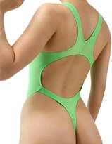 LinvMe Women's Sexy Hot Thong One Piece Swimwear High Cut Swimsuit Bathing Suits XL