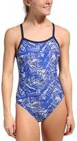 Nike Swim Scatter Brain Classic Lingerie Tank One Piece Swimsuit 48177