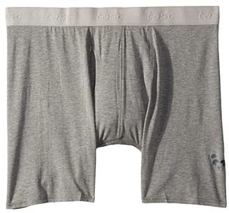 tasc Performance Bam(Bare) Boxer Briefs (Heather Gray) Men's Underwear