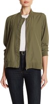 Vince Camuto Washed Bomber Jacket