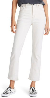 Madewell Slim Demi-Boot Ankle Jeans