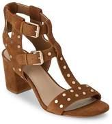 Saks Fifth Avenue Women's Leena Block-Heel Suede Sandals