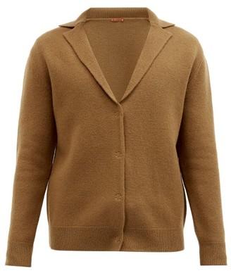 Barena Orada Notch-lapel Wool Cardigan - Khaki