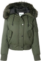 Kenzo hooded bomber jacket