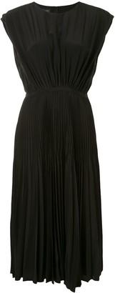 Giambattista Valli Elasticated-Waist Pleated Dress