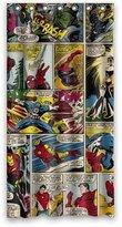 "Marvel Comics The Avengers Iron Man Hulk Shower Curtain 36"" x 72"" Perfect Deco Your Bath Home & Kitchen"