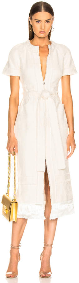 Alexis Joancy Dress in Ivory | FWRD