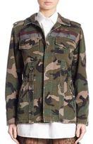 Valentino Camouflage Printed Jacket