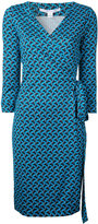 Diane von Furstenberg patterned wrap-dress - women - Silk - 8