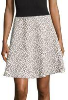 BCBGMAXAZRIA Knit Cotton-Blend Skirt