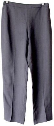 Maison Margiela Grey Viscose Trousers