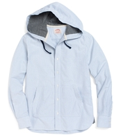 Brooks Brothers Extra-Slim Fit Oxford Hooded Sport Shirt