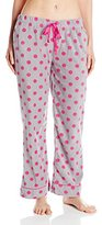 Bottoms Out Women's Printed Microfleece Pajama Pant