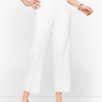 Talbots Linen Straight Leg - Curvy Fit - Lined