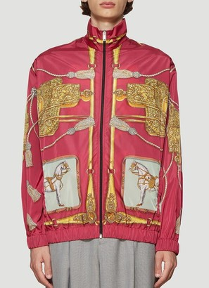 Gucci Oversized Printed Bomber Jacket