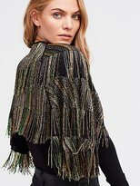 Free People Midnight Special Embellished Cape