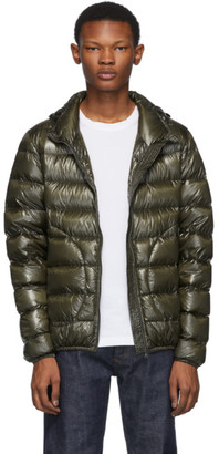 Herno Green Down Hooded Jacket