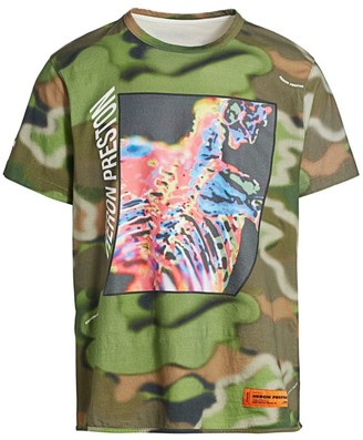 Heron Preston Capsule Regular-fit Camo Spray T-Shirt