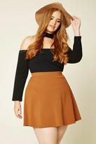Forever 21 FOREVER 21+ Plus Size Skater Skirt