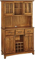 Home Styles 5100-0066-62 Buffet of Buffets Cottage Oak Wood with Hutch, Cottage Oak Finish, 41-3/4-Inch