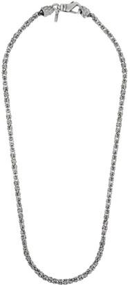Emanuele Bicocchi Silver Byzantine Chain Necklace